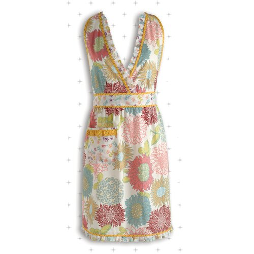 Summer Blooms Apron