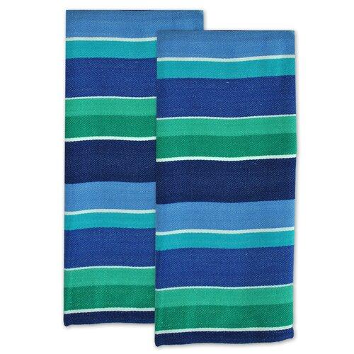 Deep Sea Stripe Dishtowel (Set of 2)