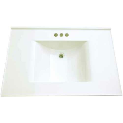Premier Faucet 37 Cultured Marble Vanity Top Reviews Wayfair