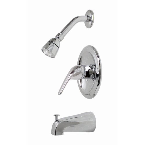 Premier Faucet Bayview Single Handle Diverter Tub and Shower Faucet