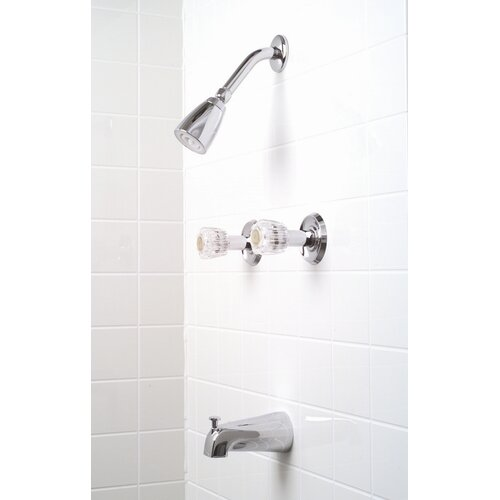 Premier Faucet Concord Two-Handle Diverter Tub and Shower Faucet