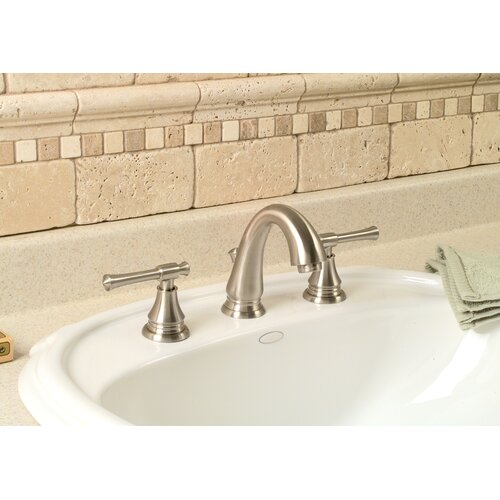 Torino Centerset Bathroom Faucet with Double Handles