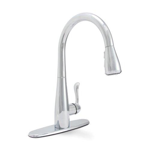 Sanibel Single Handle Pull Down Kitchen Faucet