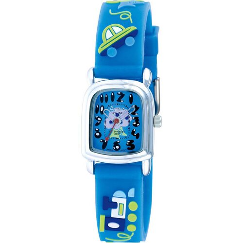 Juniors Tree Design Watch in Blue