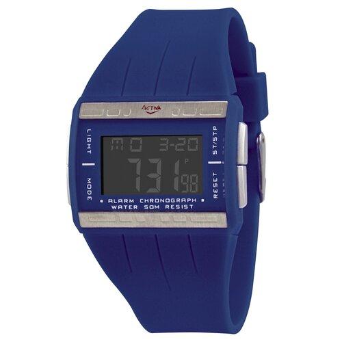 Women's Plastic Digital Multi-Function Watch in Blue