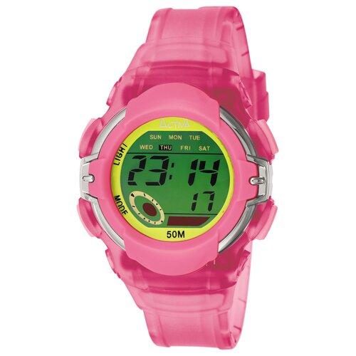 Women's Digital Multi-Function Watch in Pink