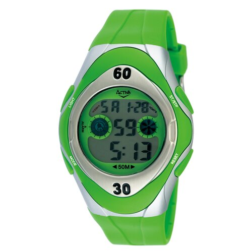 Activa Watches Men's Digital Watch in Green