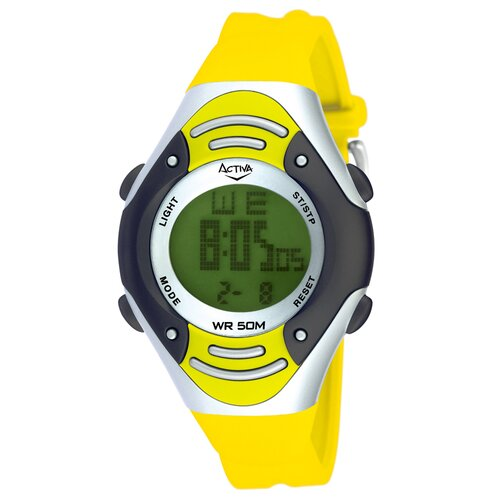Midsize Multi-Function Watch in Yellow