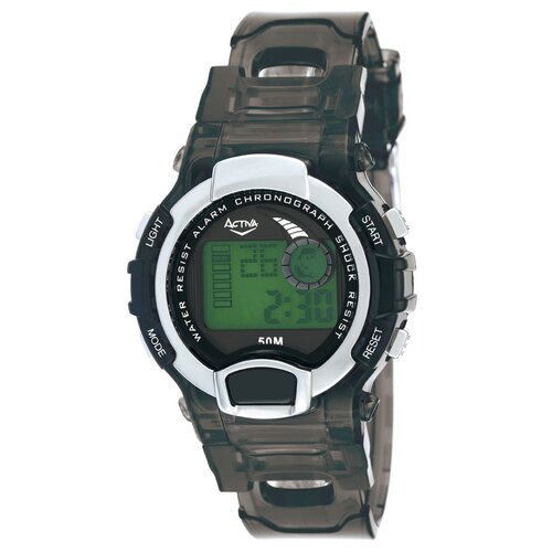 Midsize Digital Watch in Black
