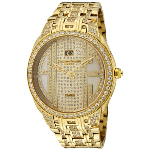 Men's City Light Round Watch