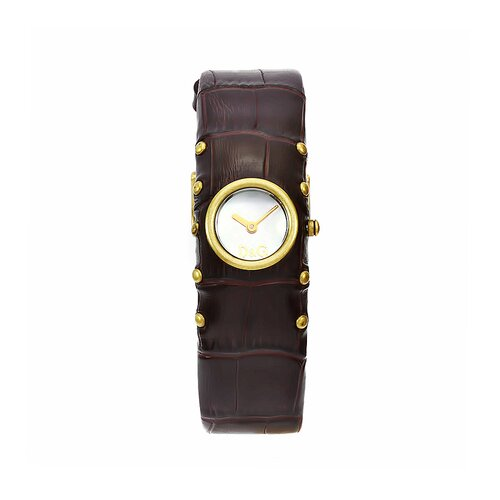 Dolce & Gabbana Women's Cottage Watch with Leather Strap
