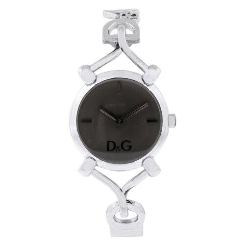 Dolce & Gabbana Flock D&G Women's Watch with Brown Dial