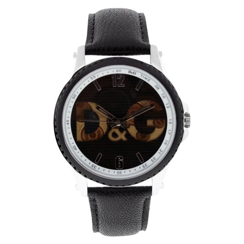Dolce & Gabbana Sestriere D&G Men's Watch with Leather Strap