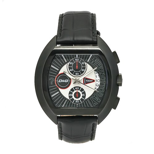 Men's High Security Watch with Black Chronograph Dial