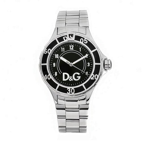 Dolce & Gabbana Women's Anchor Watch with Black Dial