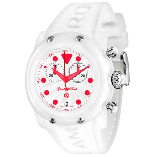 Glam Rock Women's Miami Round Watch