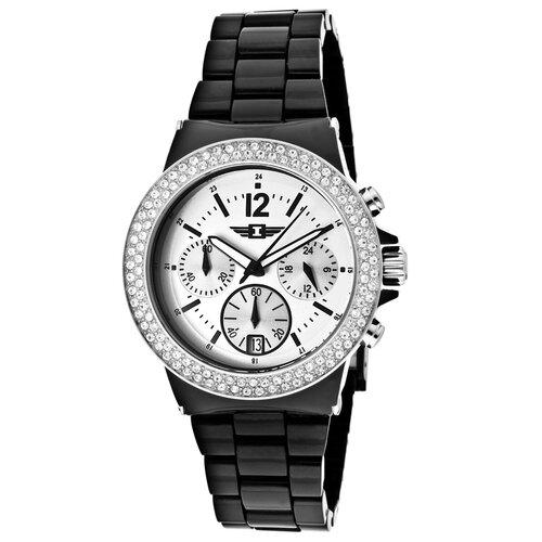Women's Chronograph Round Watch