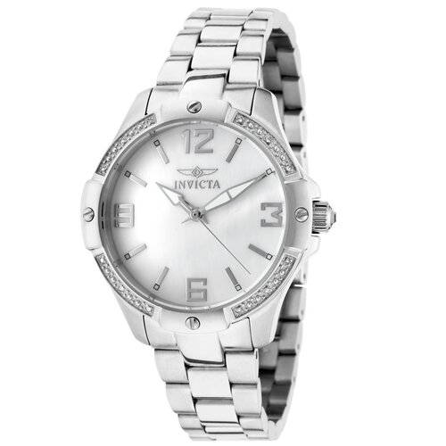 Women's Angel Diamond Round Watch
