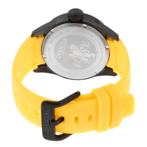 Invicta Unisex I-Force Polyurethane Round Watch