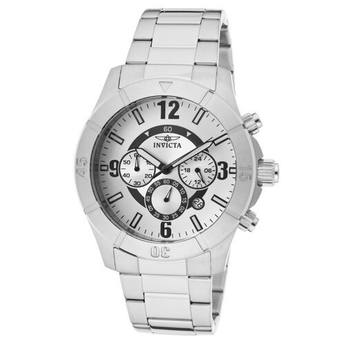 Men's Specialty Chronograph Round Watch