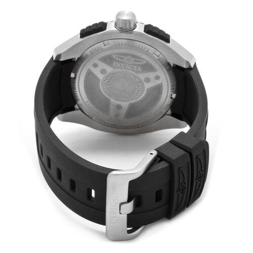 Invicta Men's S1 Chronograph Polyurethane Round Watch
