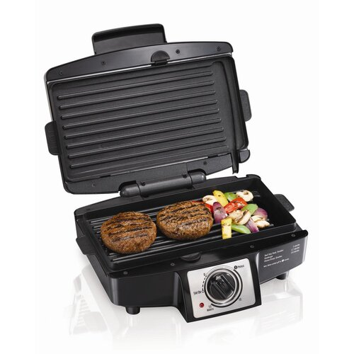 Hamilton Beach Easy-Clean Indoor Grill