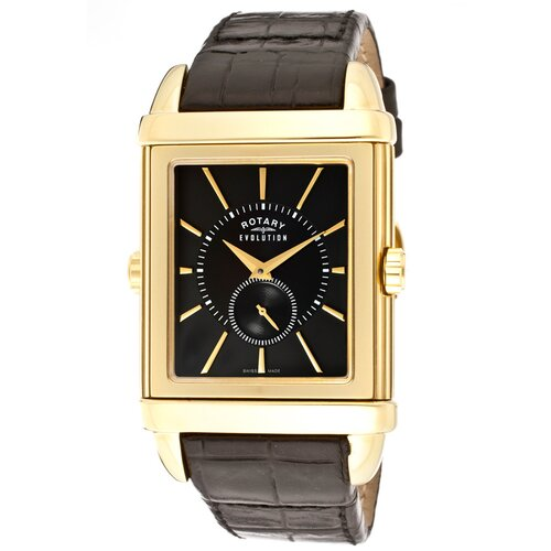 Rotary Watches Men's Evolution TZ2 Reversible Rectangle Watch