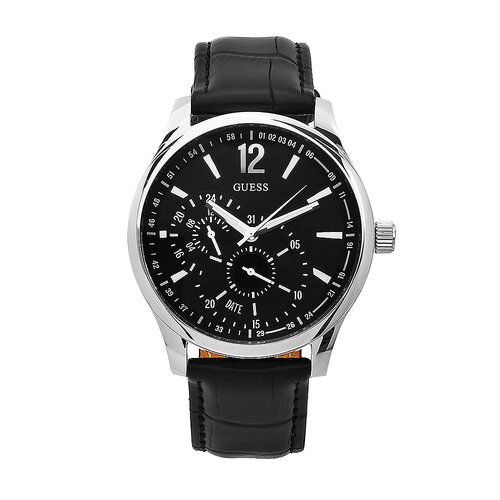 Guess Men's Vessel Watch in Black Dial