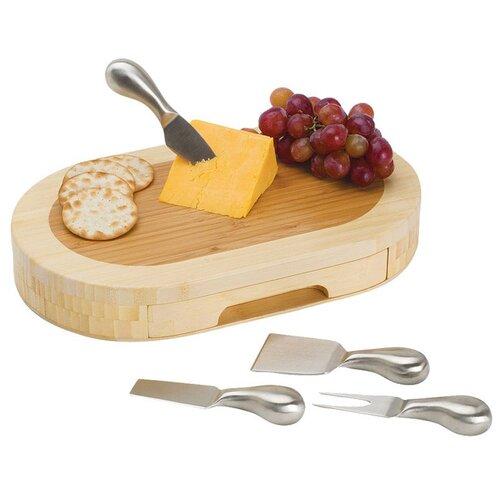 Picnic Time Formaggio Cheese Cutboard Set