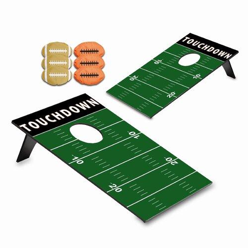 Football Field Bean Bag Throw