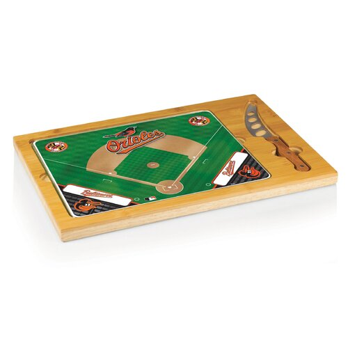 Picnic Time MLB Icon Wood Cutting Board
