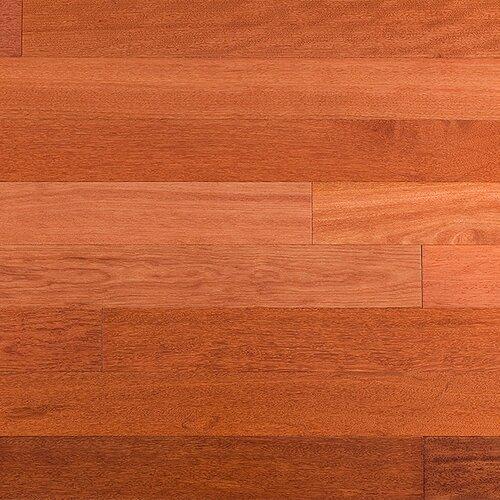 3 5 8 solid kempas flooring in natural wayfair for Kempas hardwood flooring