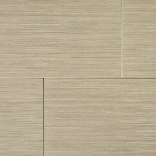 "Kaska Element Series 24"" x 12"" Porcelain Tile in Brown"
