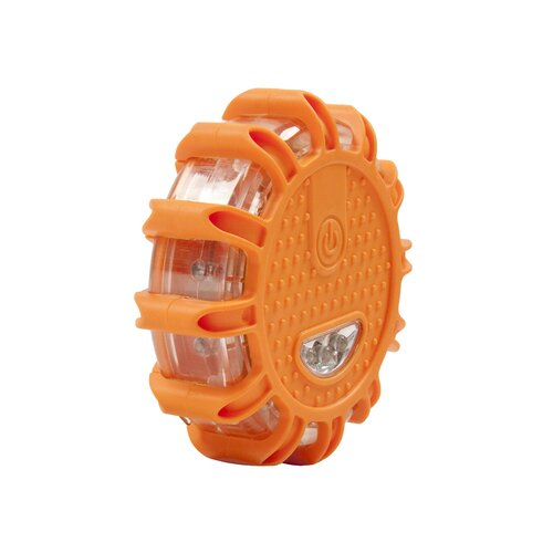 15 Light Flare Roadside Emergency Disc Flashlight (3 Pack)
