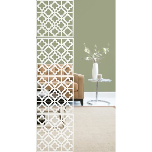 "WallPops! 17.75"" x 17.75"" Honeycomb Room Divider"
