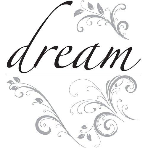 WallPops! Art Kit Dream Phrases Wall Decal