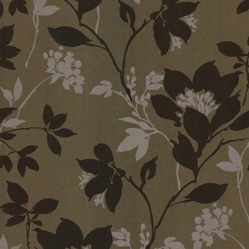 Brewster Home Fashions Salon Open Floral Trail Wallpaper