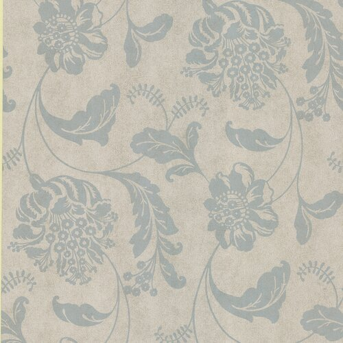 Brewster Home Fashions Serene Affabre Jacobean Wallpaper