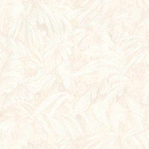Brewster Home Fashions Kitchen and Bath Resource II Leaf Embossed Wallpaper