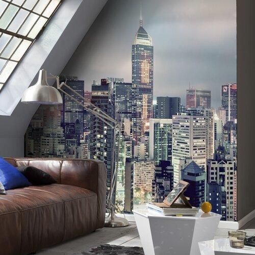 Brewster Home Fashions Komar Skyline Wall Mural