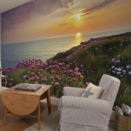 Brewster Home Fashions Komar Land's End Wall Mural