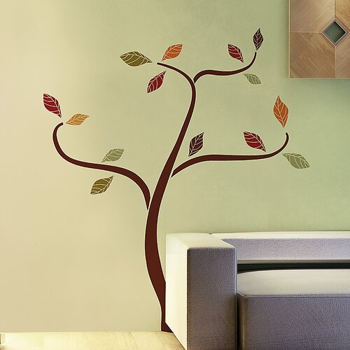 Euro Ethnic Tree Wall Decal