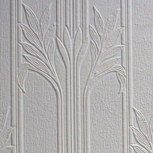 anaglypta paintable wildacre floral embossed wallpaper