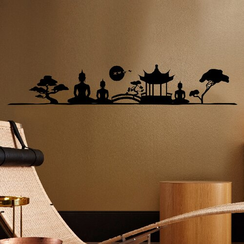 Euro Asian Imagery Wall Decal