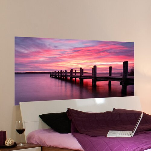 Brewster Home Fashions Euro Sunset Panoramic Wall Decal