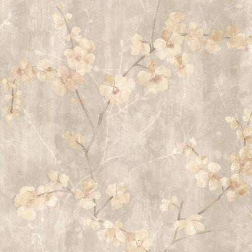 Kitchen bath resource iii chapman cherry blossom trail for Wayfair bathroom wallpaper
