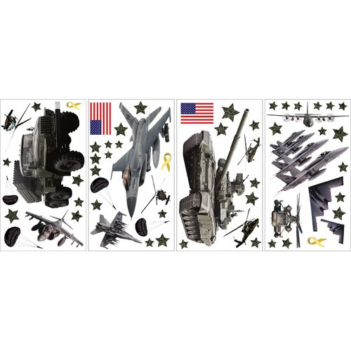 WallPops Military Window Sticker