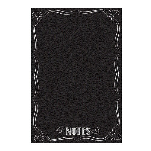 WallPops Novelty Black Dry Erase - Bistro Notes Chalkboard Wall Decal