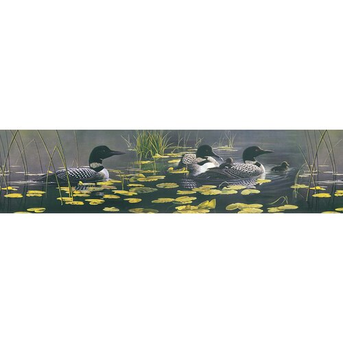 Brewster Home Fashions Northwoods Duck Border Wallpaper