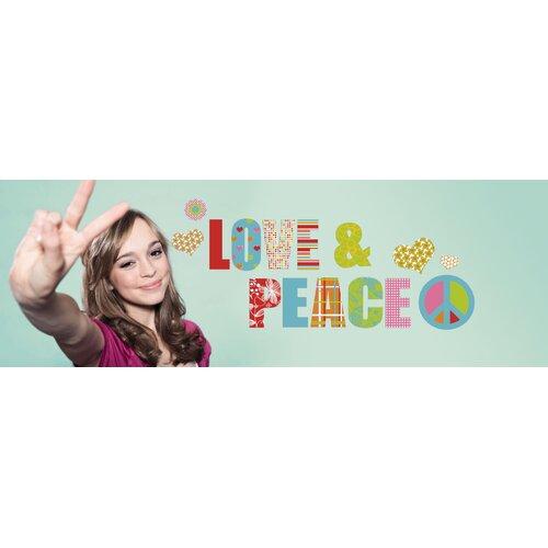 Euro Love & Peace Wall Decal